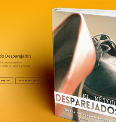 Desparejados.com diseño web
