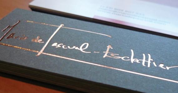 Tarjetas Mario de Pascual